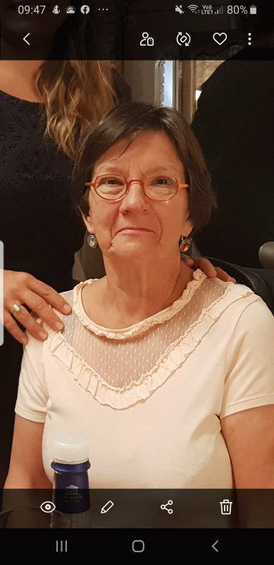 Marie 70 ans Coulaines